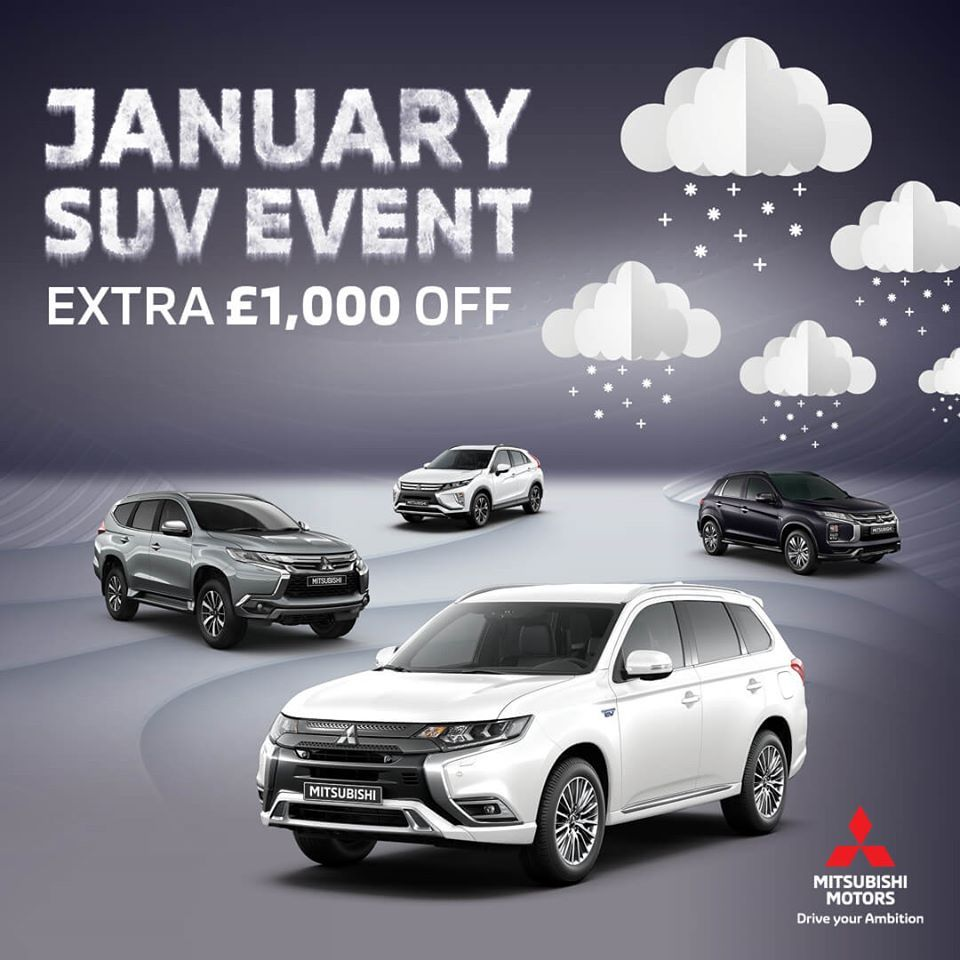 January SUV Event