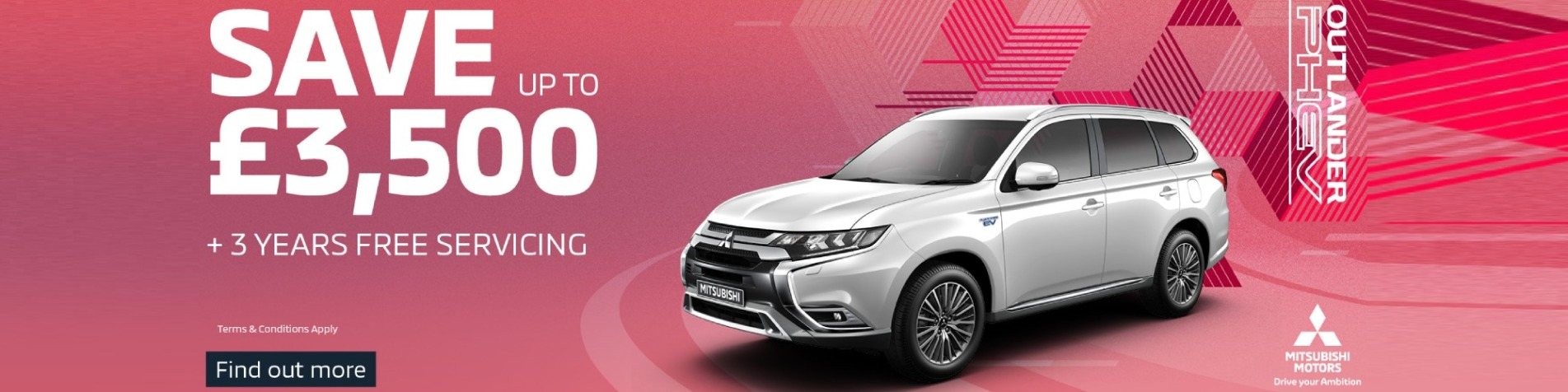 Outlander PHEV Save £3500
