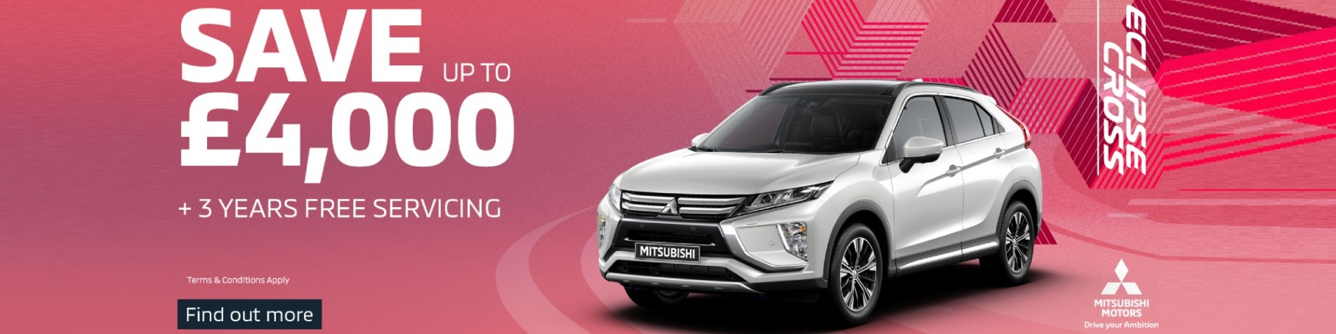 Eclipse Cross Save £4000
