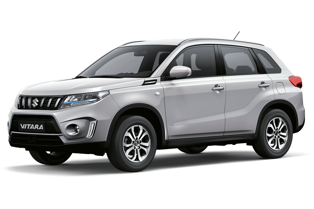 Suzuki Vitara - Available In Silky Silver Metallic